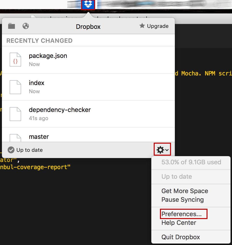 Ignore node_modules in Dropbox - Justin Silver
